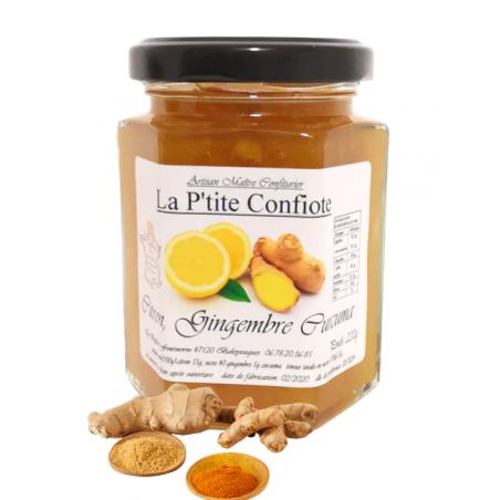 confiture citron gingembre curcuma