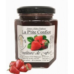 Confiture fraise charlotte