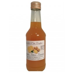 Lemon ginger turmeric syrup