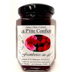 raspberry jelly with geranium
