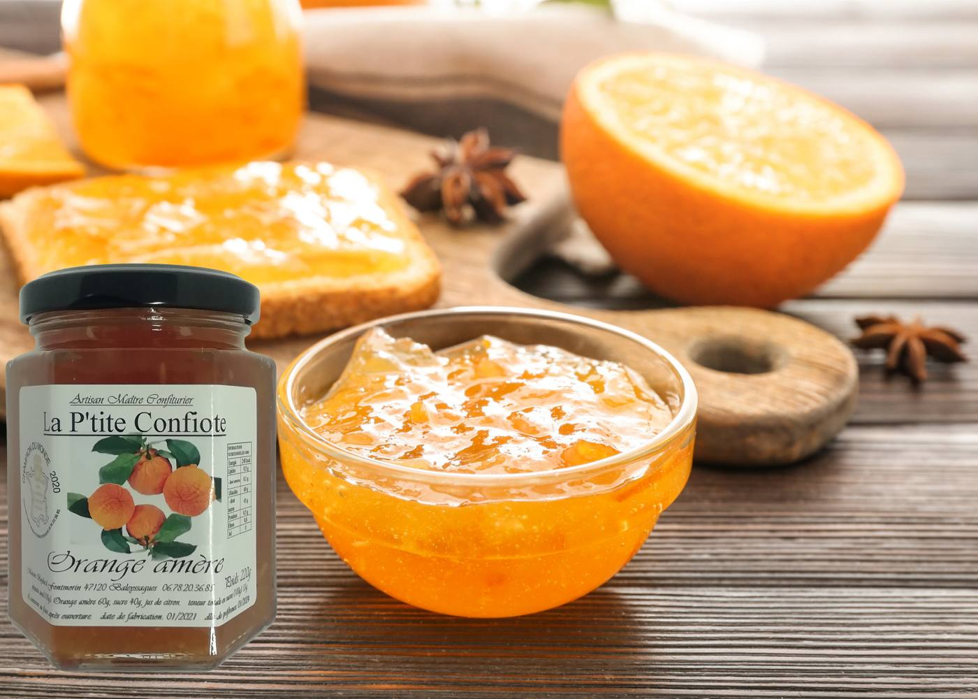 Bitter orange marmelade